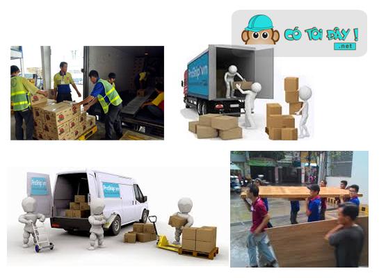 Dịch vụ bốc vác, vận chuyển đồ, hàng hóa Hà Nội