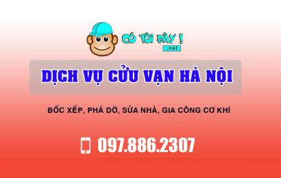 Dịch vụ cửu vạn chuyên nghiệp, giá cạnh tranh nhất Hà Nội