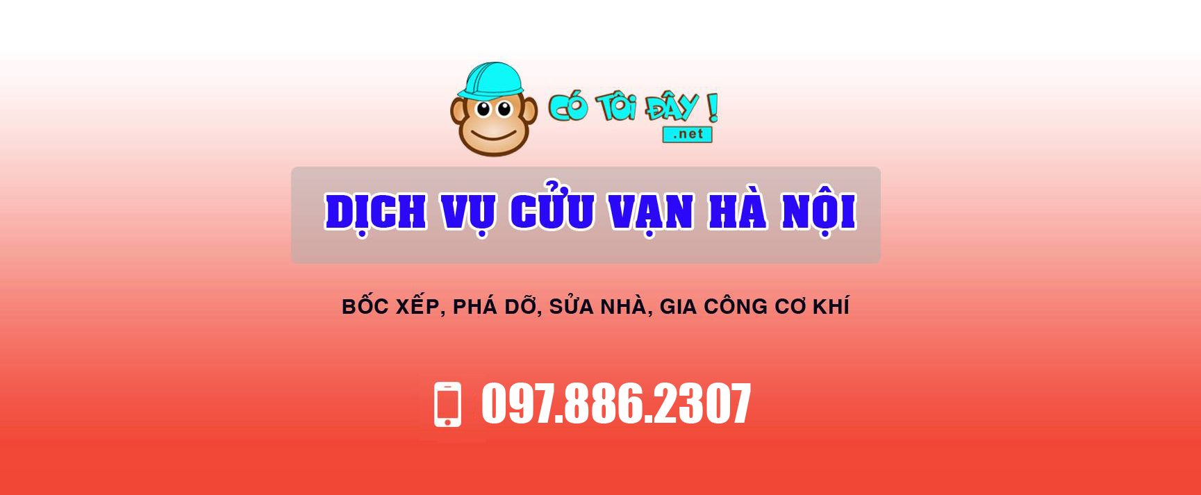 Hỗ trợ online dịch vụ cửu vạn Hà Nội